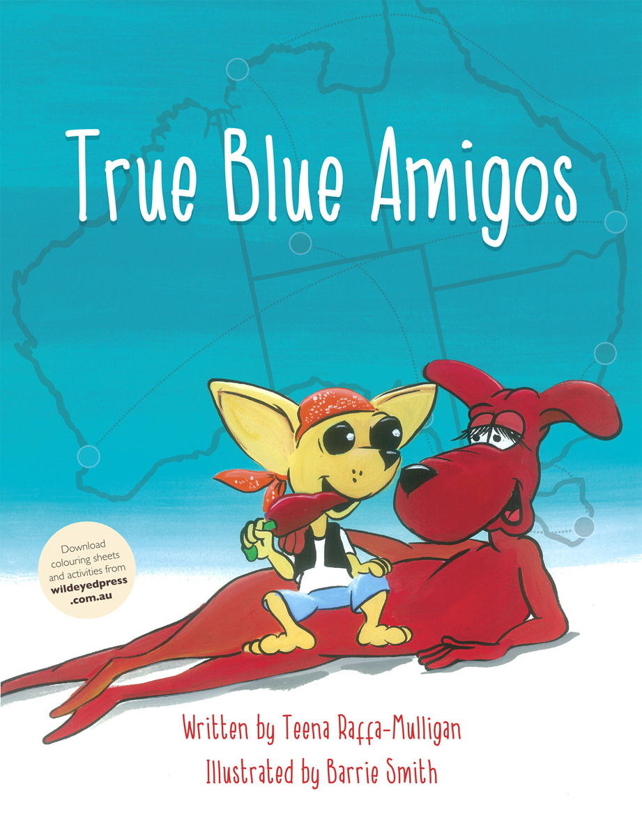 True-Blue-Amigos Cover